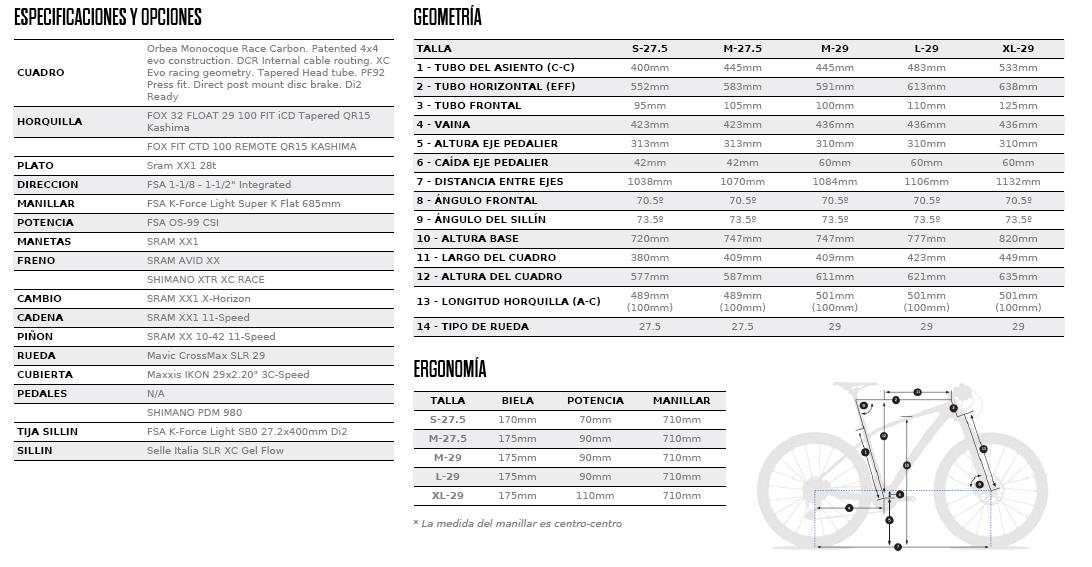 ALMA 29-27.5 M-LTD FICHA
