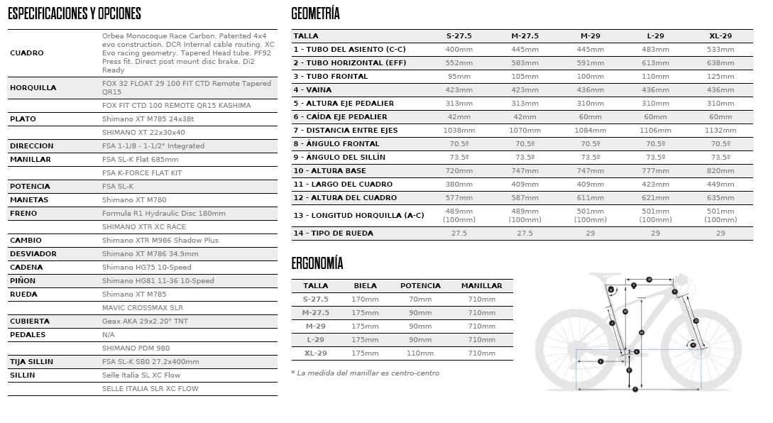 ALMA 29-27.5 M10 FICHA