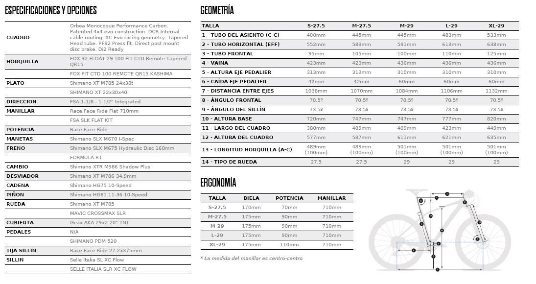 ALMA 29-27.5 M20 FICHA