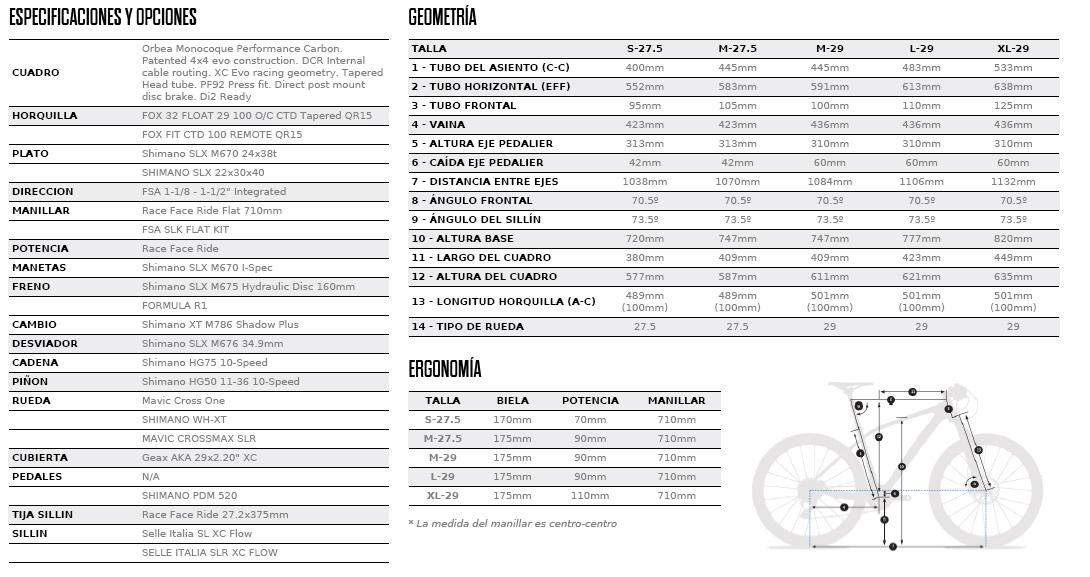 ALMA 29-27.5 M30 FICHA