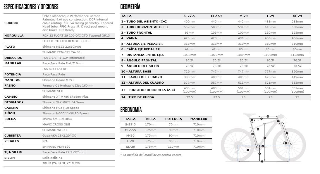 ALMA 29-27.5 M50 FICHA