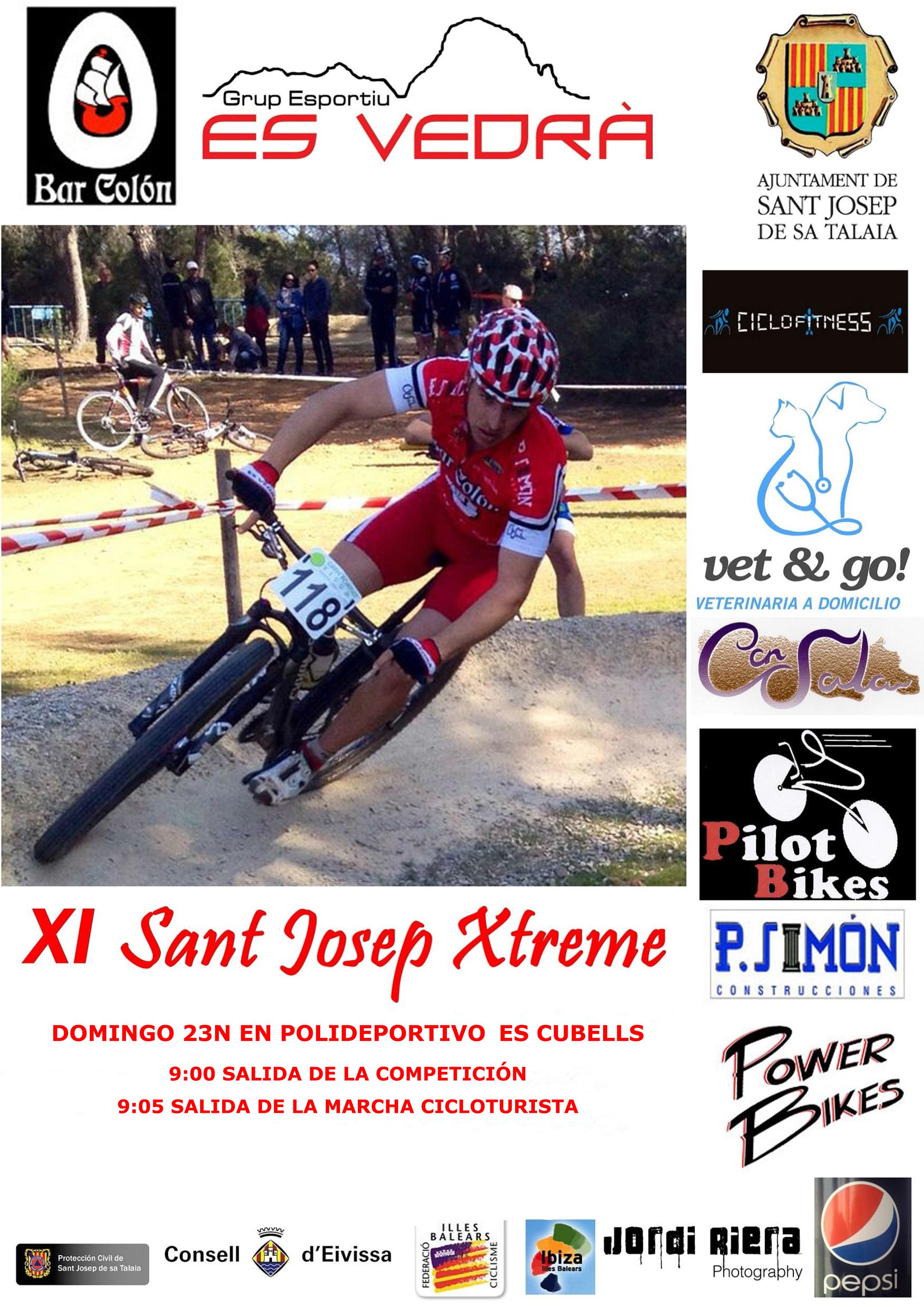 CARTEL SANT JOSEP XTREME 2014