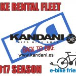 KANDANI RENT A BIKE IBIZA. 2017 BIKE RENTAL FLEET