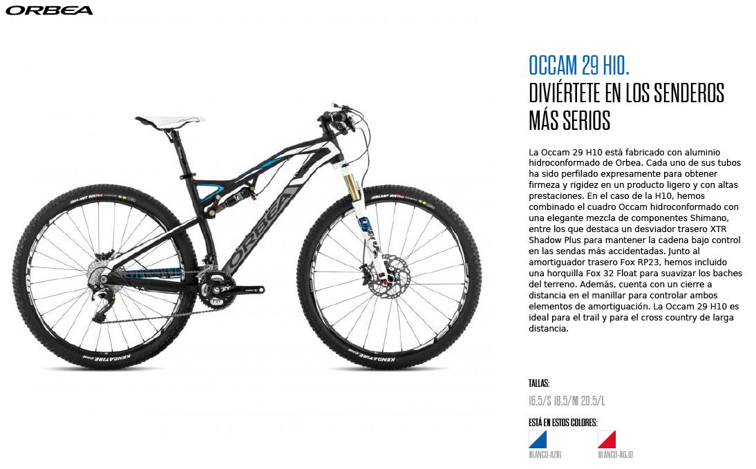 OCCAM 29 H10