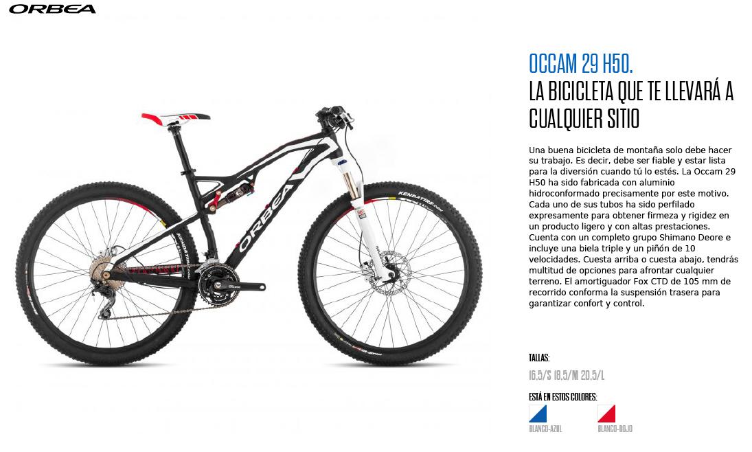 OCCAM 29 H50