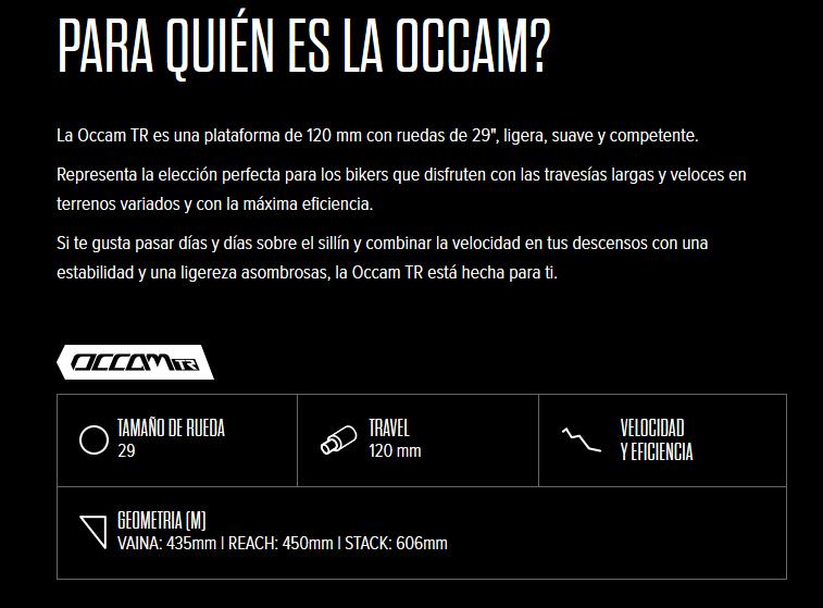 OCCAM TR 29
