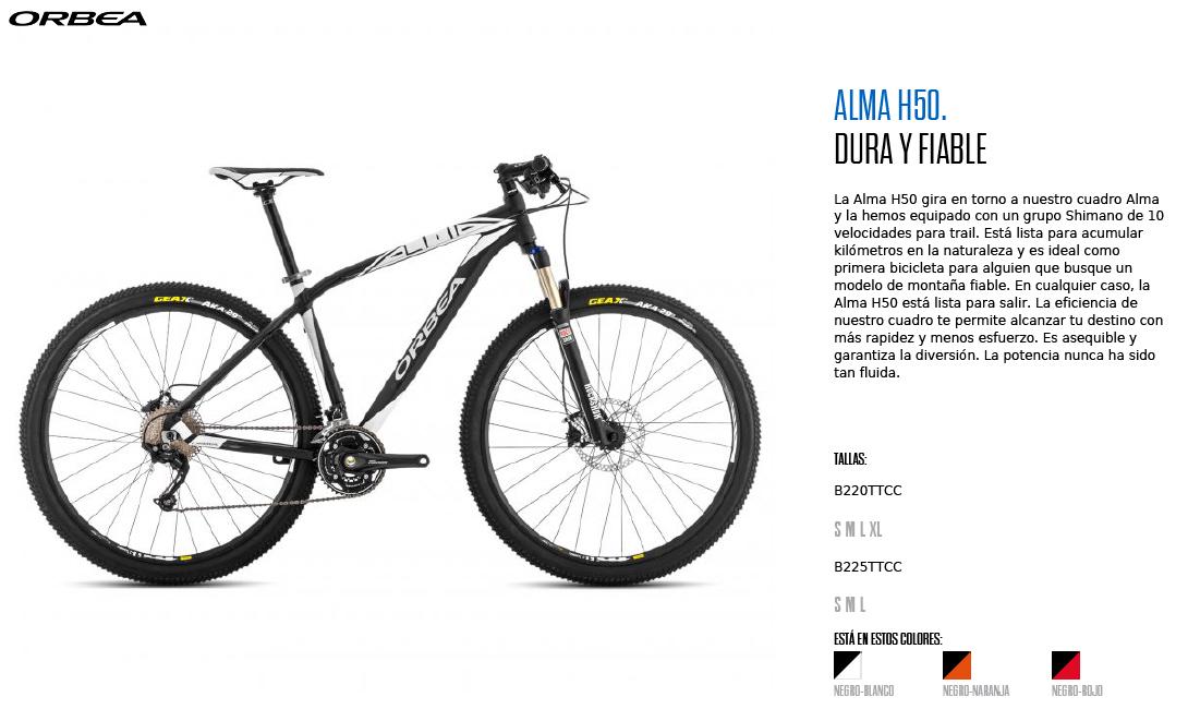 ORBEA ALMA H50