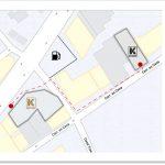 Bike Shop to Rental Shop Map